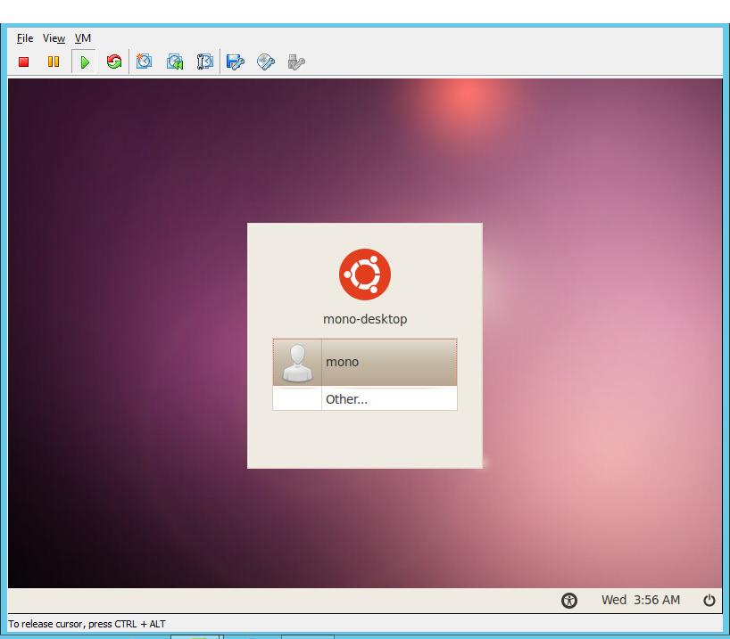 ubuntu machine image