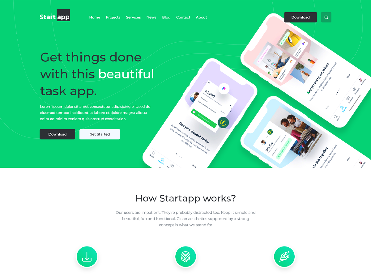 Start App