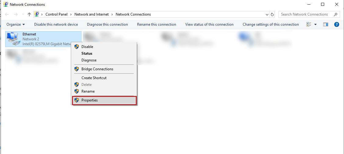 changing MAC address in Windows 10- 3