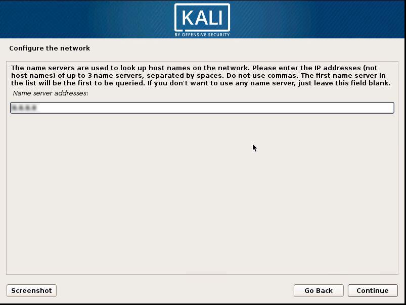 Installing Kali 10