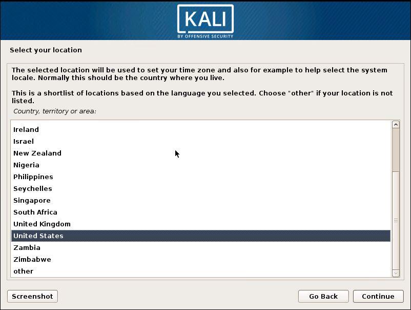 Installing Kali 3