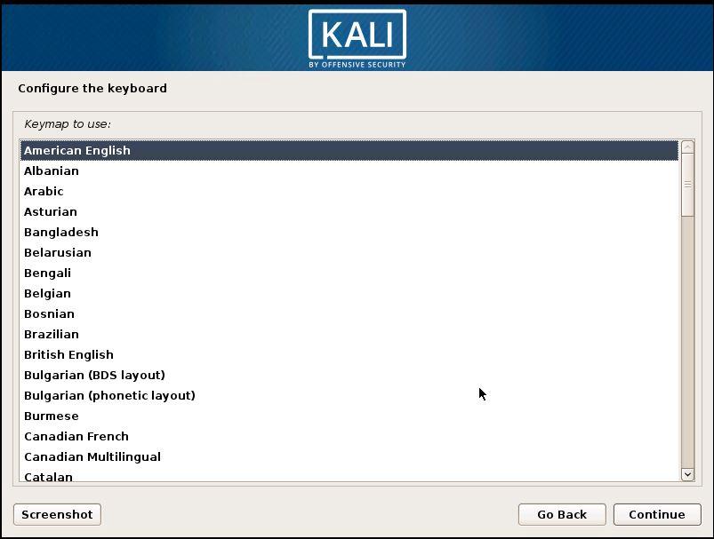 Installing Kali 4