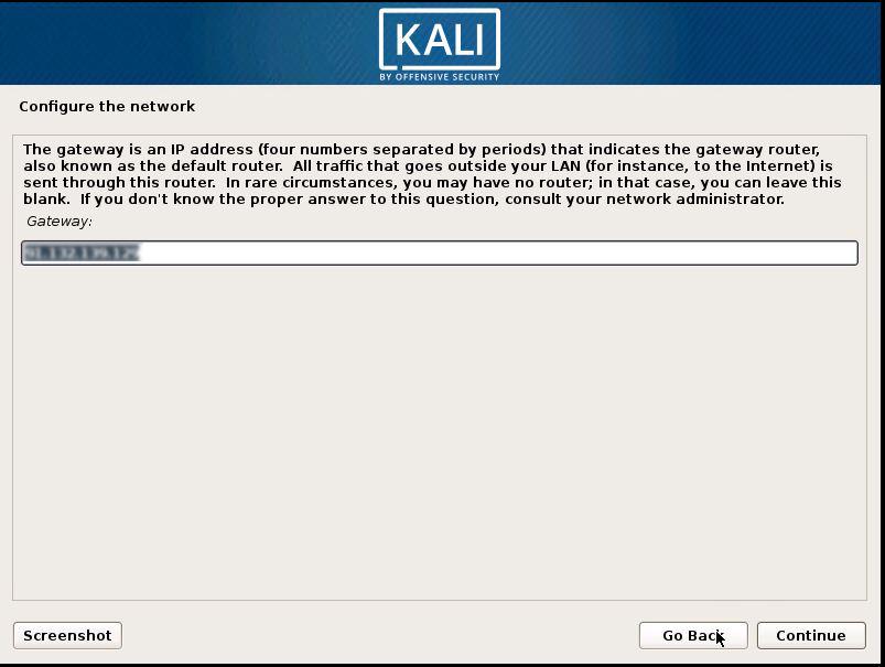 Installing Kali 9
