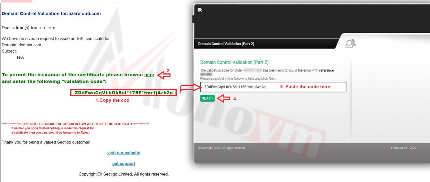 Installing sectigo SSL on CPanel-11