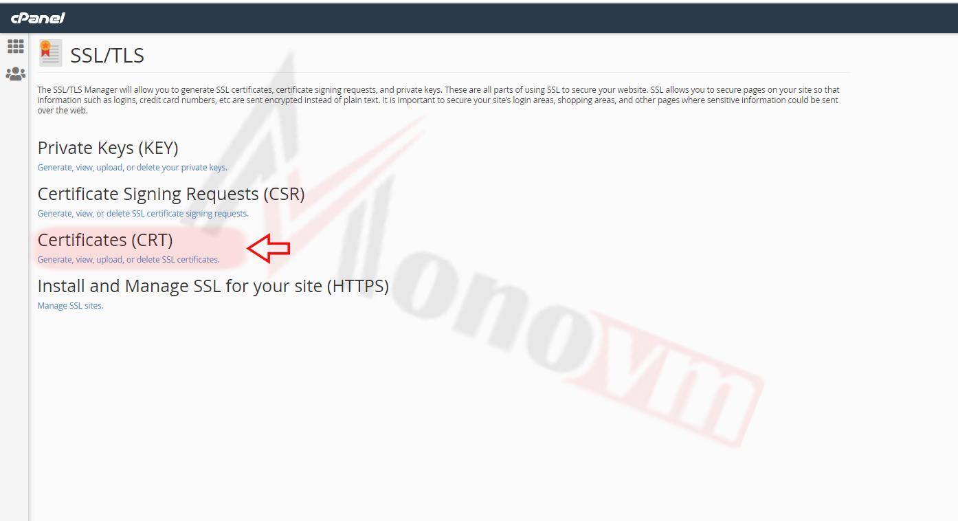 Installing sectigo SSL on CPanel-12