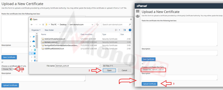 Installing sectigo SSL on CPanel-13