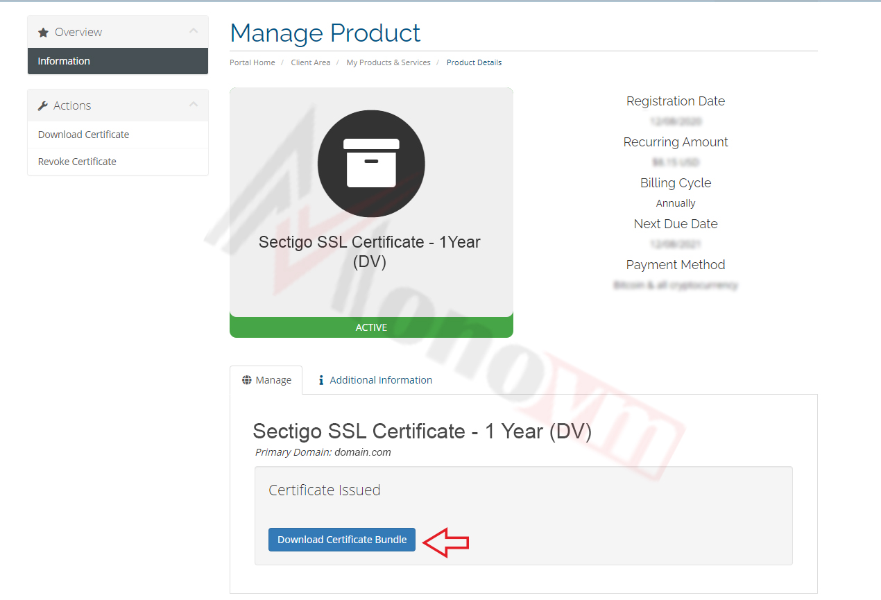 Installing sectigo SSL on CPanel-18