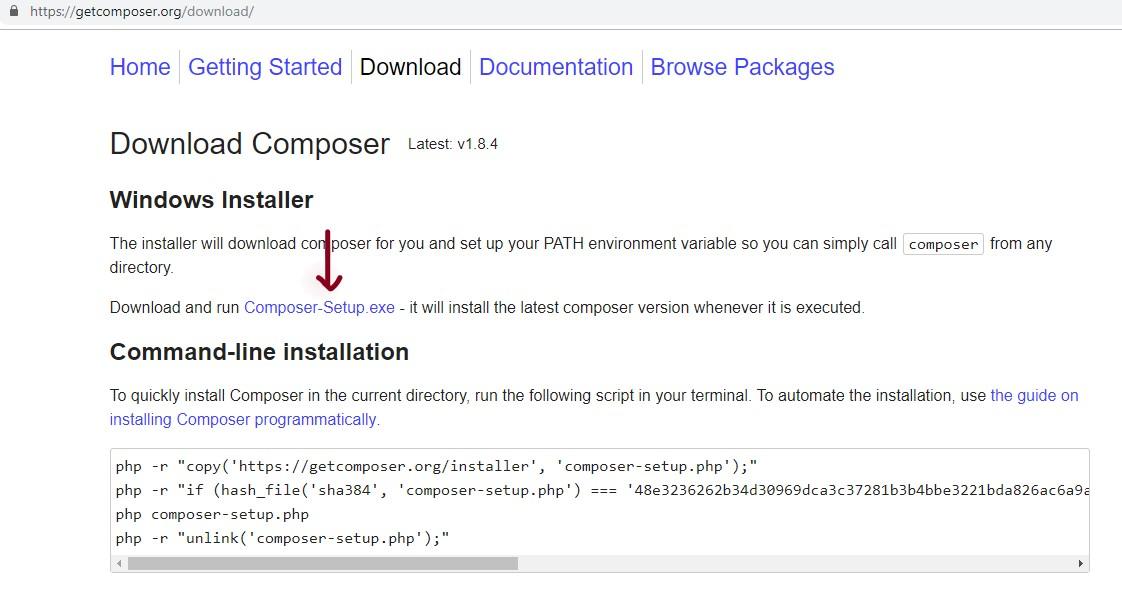 How to Install Laravel on Local host XAMPP