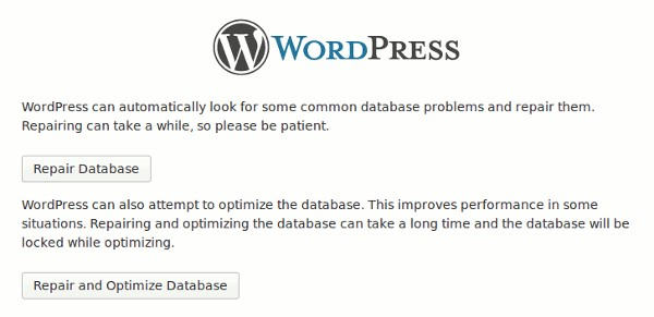 How to Repair WordPress Database