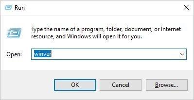 find Windows version