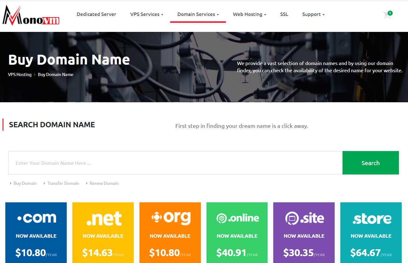 domain-search-bar