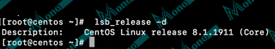 lsb_release command on CentOS