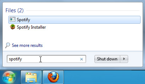 search in windows 7