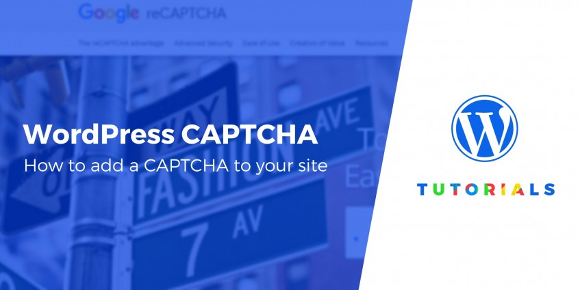 How to Add CAPTCHA on WordPress