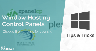 Windows Server Hosting Control Panels