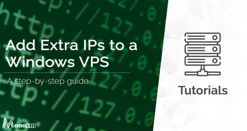 How to Add Extra IPs on Windows VPS Server