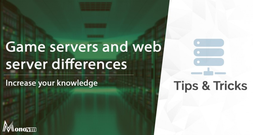 Difference Between Game Servers & Web Servers