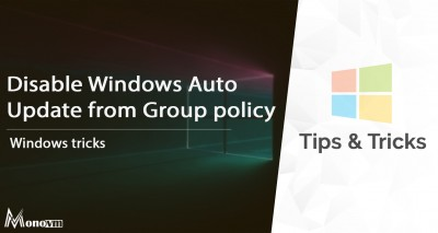 Disable Windows Update From Group Policy