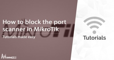 How to block port scanner in MikroTIk