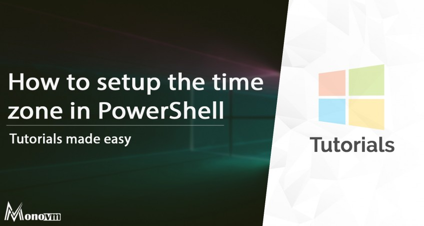 Setting the Time Zone through PowerShell