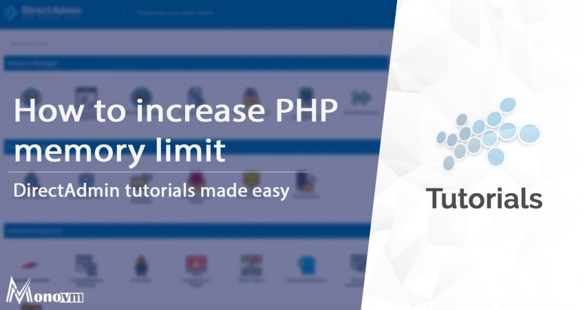 How to increase PHP memory limit in DirectAdmin