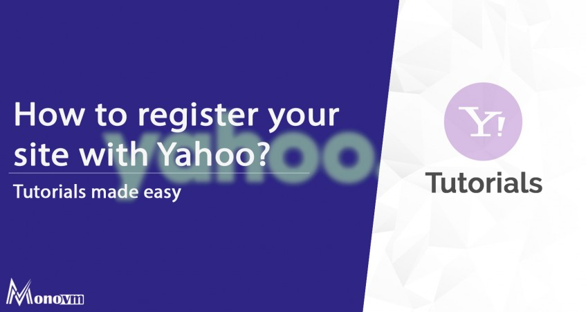 How to Register Your Site With Yahoo