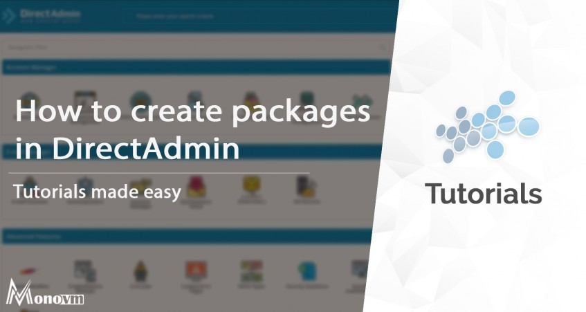 Creating Packages in DirectAdmin