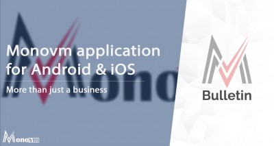Monovm mobile application for Android and iOS.