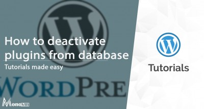 Deactivating WordPress Plugins Directly from the Database