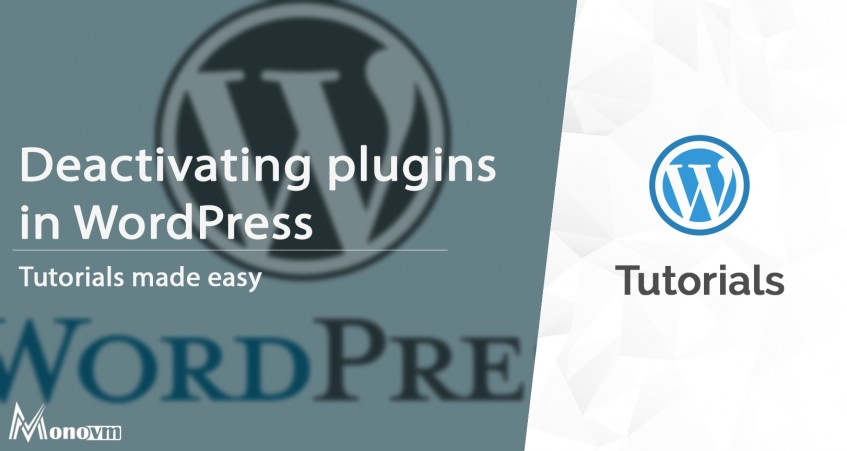 Deactivate Installed Plugins in WordPress