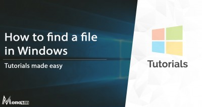 How to Find and Search for a File in Windows 10, 8, 7