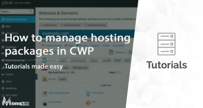 How to Create or Delete Hosting Packages in CWP