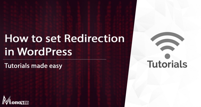 Redirection in WordPress