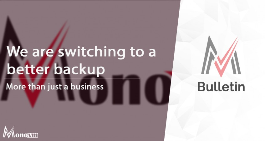 We are Switching to a Better Backup Solution