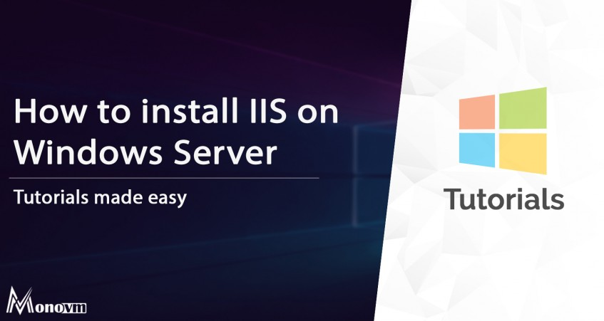How to Install IIS on Windows